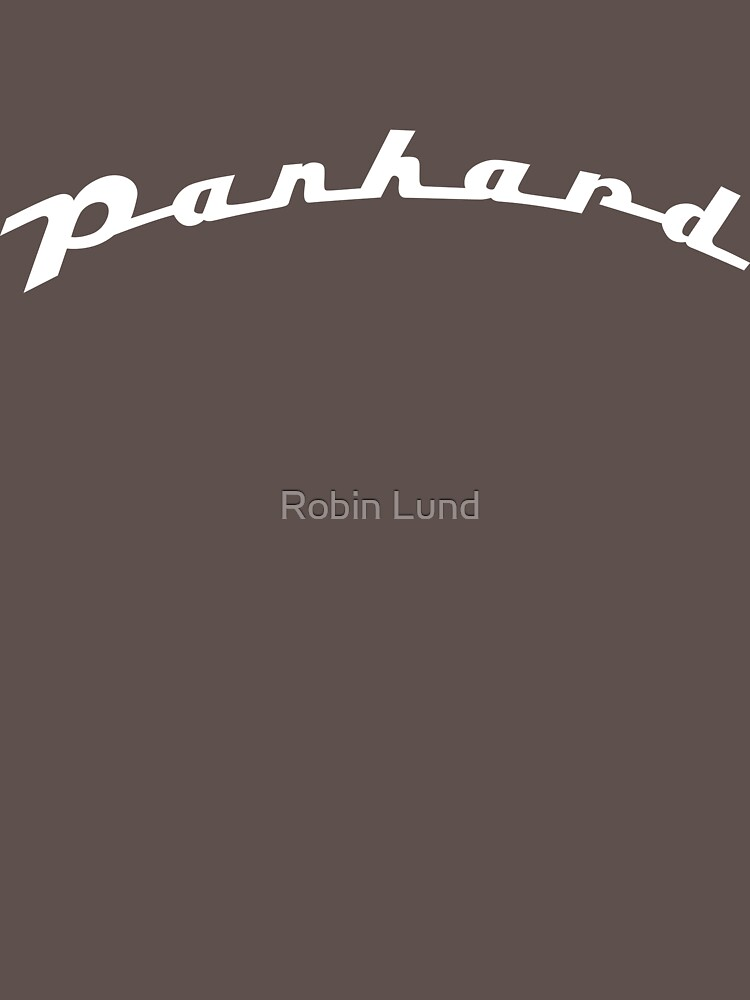 Panhard script emblem by kosmonaut