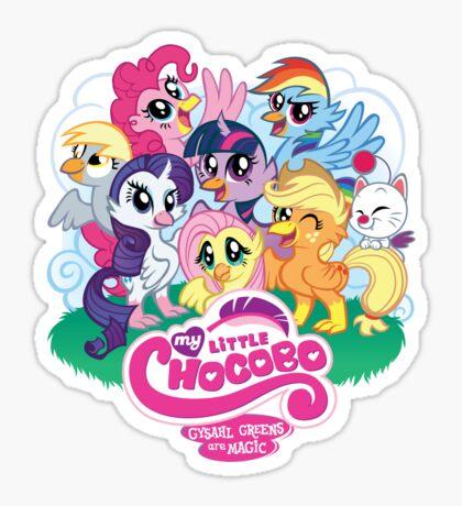 My Little Chocobo Sticker