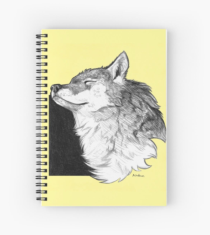 Sunny Wolf by Ashley Dadoun
