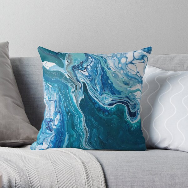 Going My Wave II Throw Pillow
