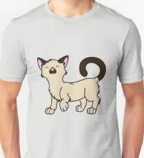 Happy Siamese Kitten Unisex T-Shirt