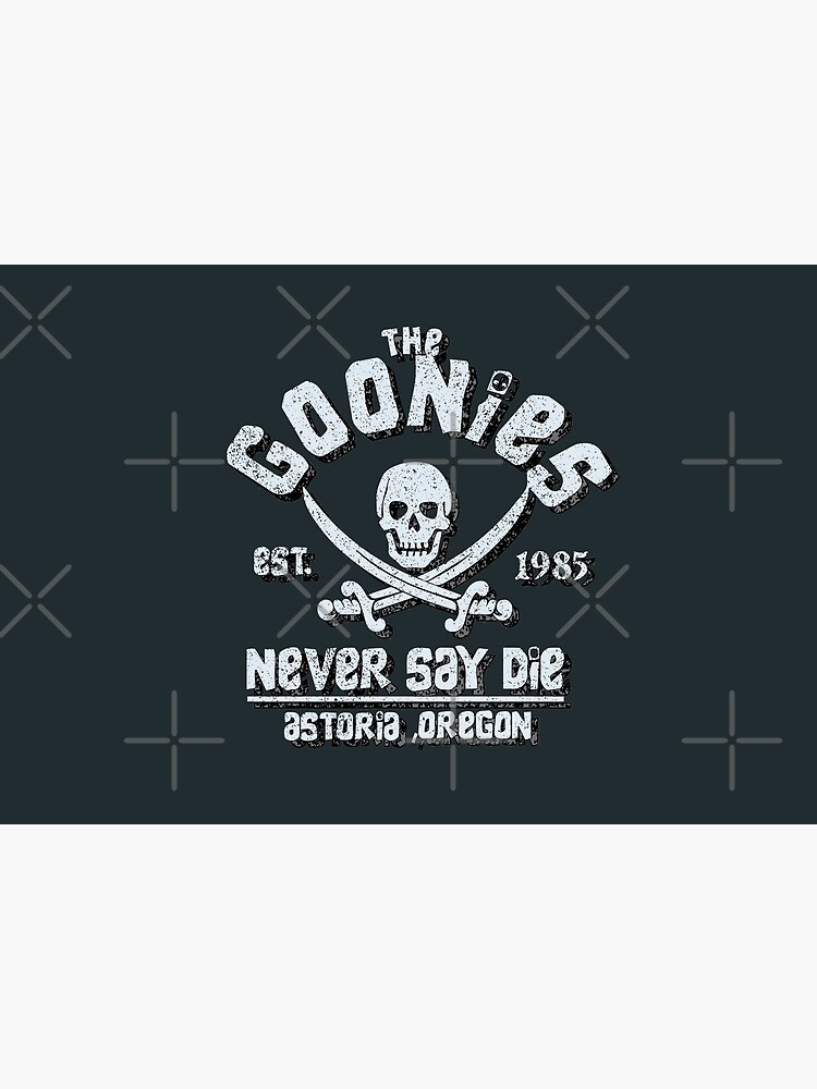 Goonies Never Say Die Distressed Vintage Retro 80s Mask by PunkSpaceWars