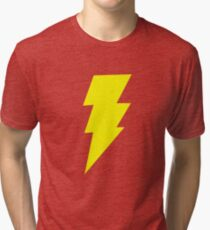 Shazam Black Adam Tri-blend T-Shirt