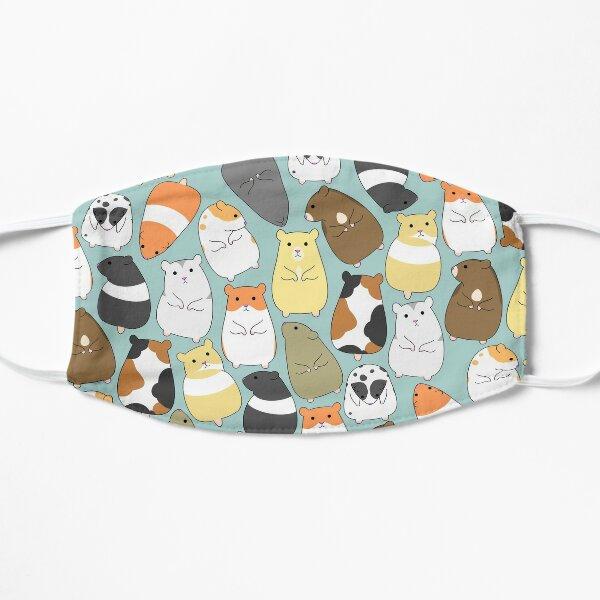 Cute Hamsters  Flat Mask