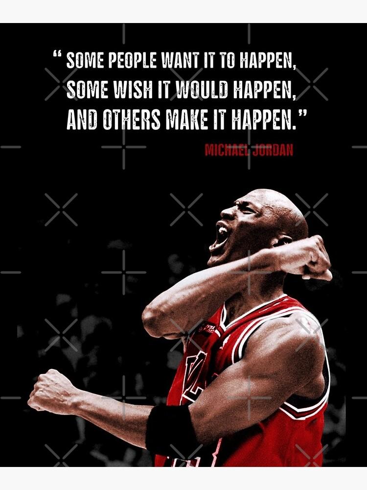 Make it Happen - Michael Jordan by Luna7