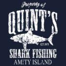 Quints Shark Fishing Amity Island by iEric