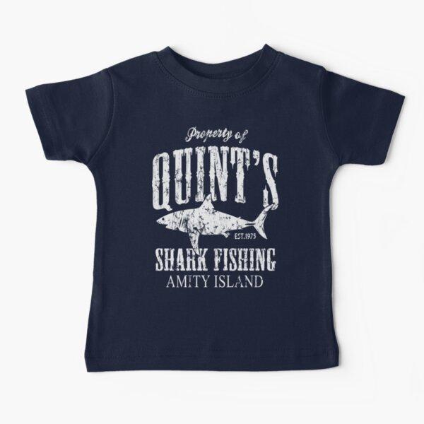 Quints Shark Fishing Amity Island Baby T-Shirt
