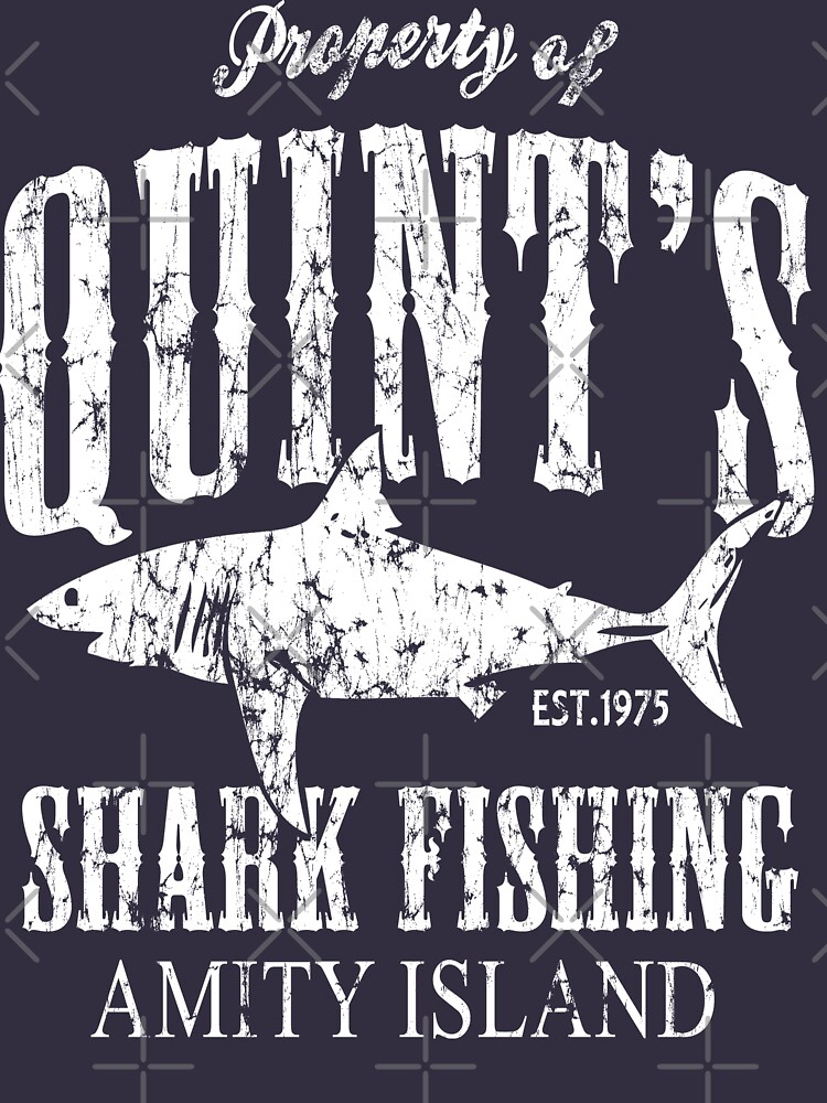 Quints Shark Fishing Amity Island | Unisex T-Shirt