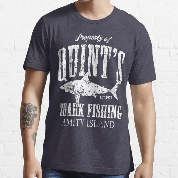 Quints Shark Fishing Amity Island Essential T-Shirt