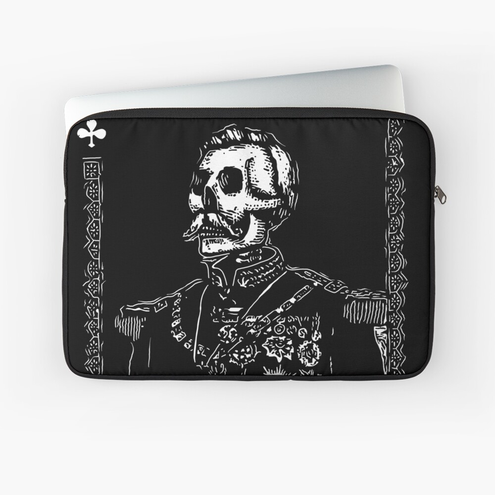 Day of the Dead - King of Clubs Laptop Sleeve