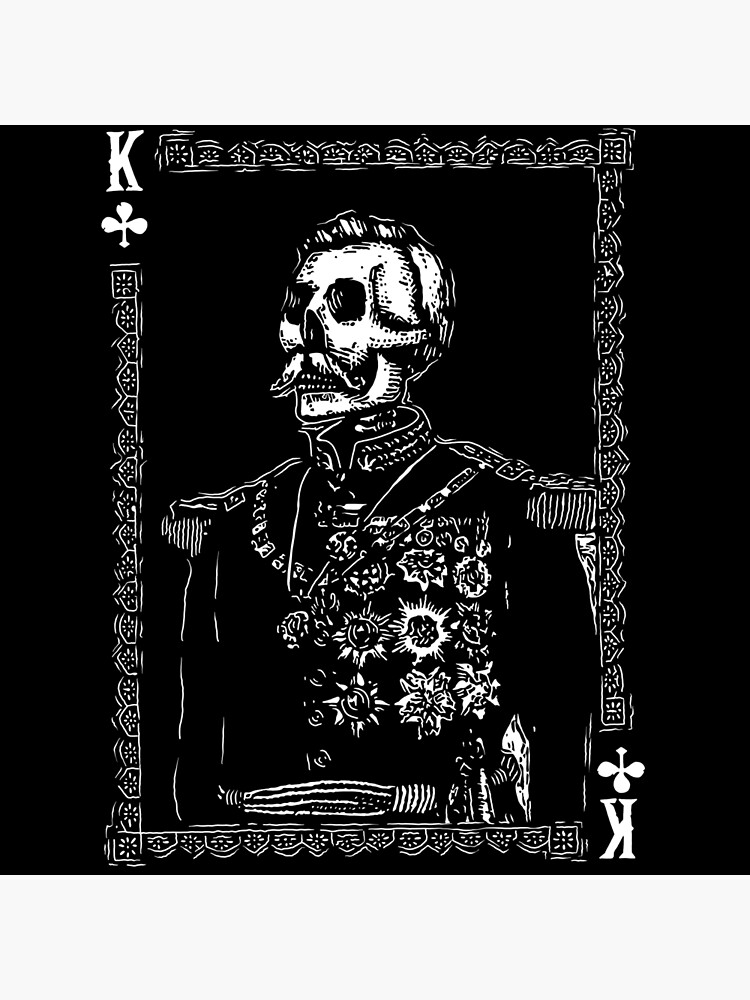 Day of the Dead - King of Clubs by fullrangepoker