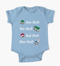 1 Shell 2 Shell One Piece - Short Sleeve