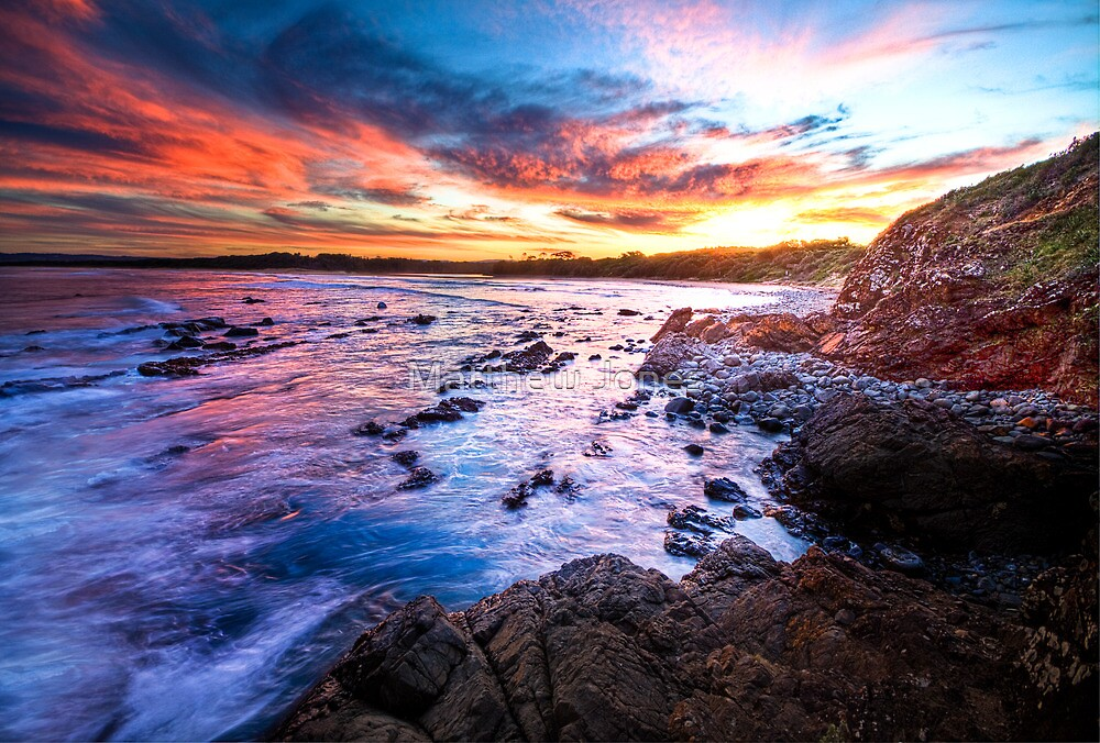 Saltwater Beach NSW Australia by Matthew Jones