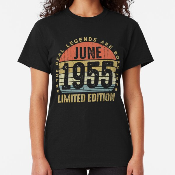 Legends Are Born 1955 Mens Long Sleeve T-Shirt 64th Sixty Four 64 Birthday