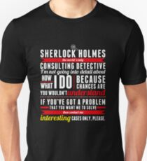 Interesting Cases Only, Please. T-Shirt