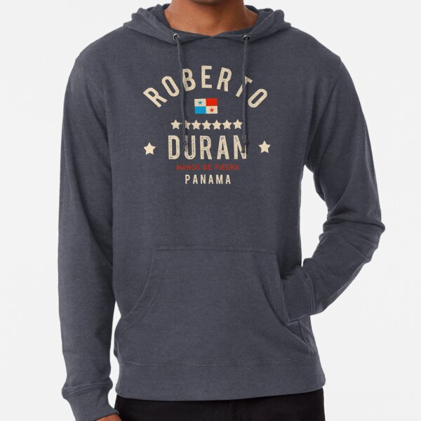 Dedicated to Roberto Duran Lightweight Hoodie