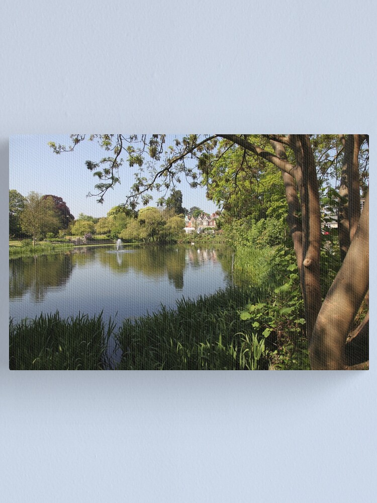 Alternate view of Bletchley Park Lakeview Canvas Print