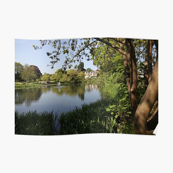 Bletchley Park Lakeview Poster