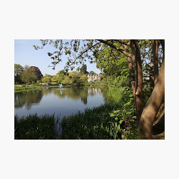 Bletchley Park Lakeview Photographic Print