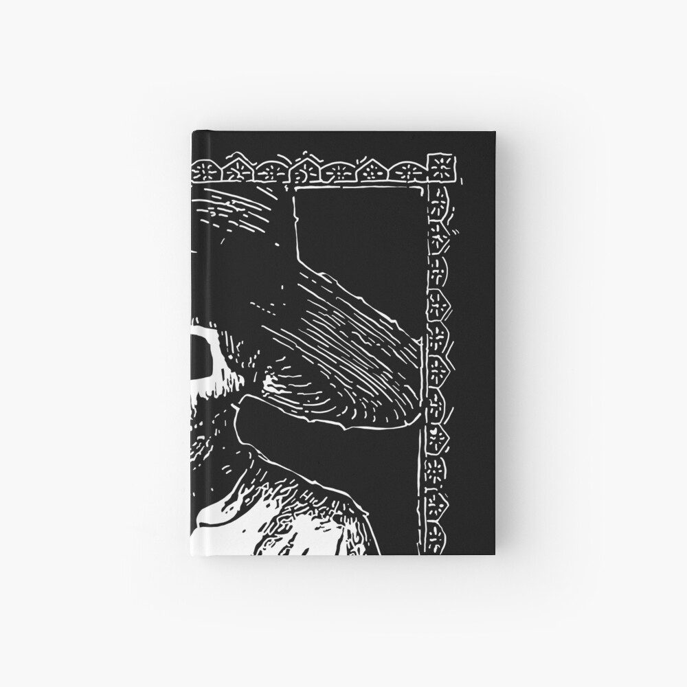 Day of the Dead - King of Spades Hardcover Journal