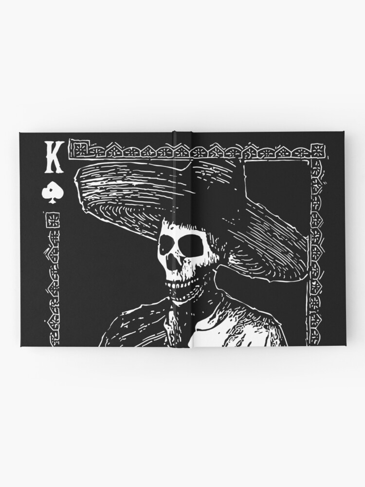 Alternate view of Day of the Dead - King of Spades Hardcover Journal