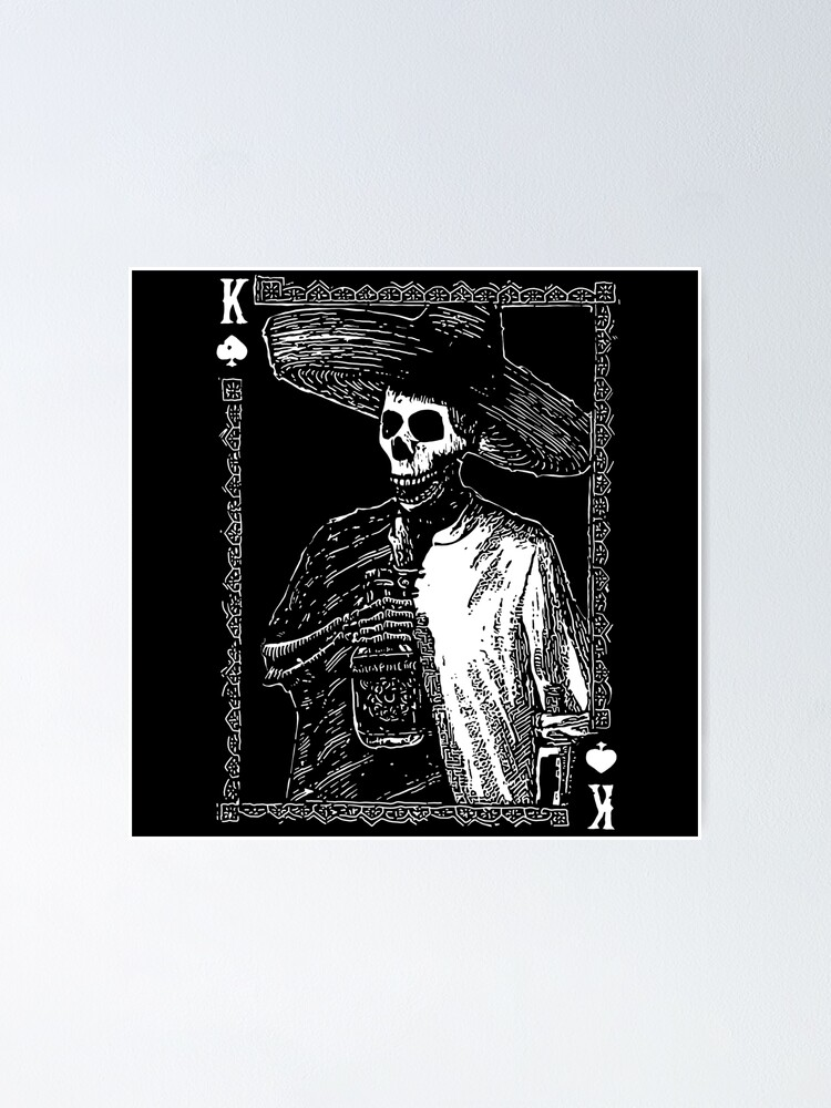 Alternate view of Day of the Dead - King of Spades Poster