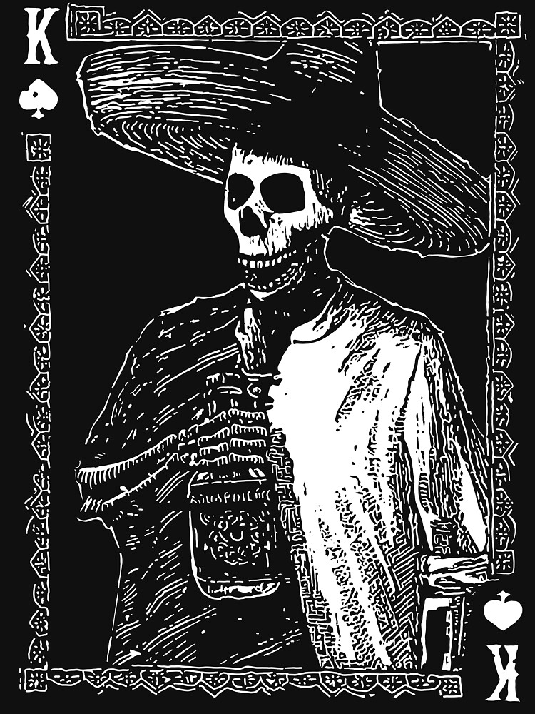 Day of the Dead - King of Spades by fullrangepoker