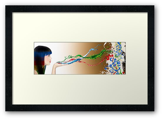 creative paint splash digital photography by SFDesignstudio