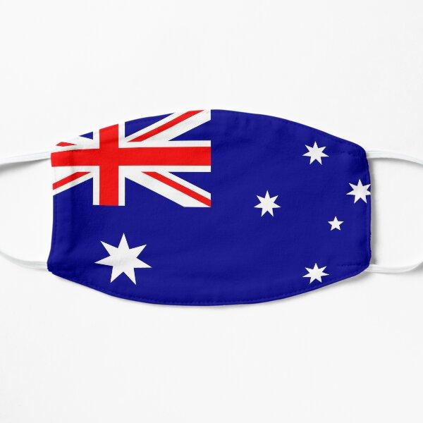 Australian Flag Mask Flat Mask