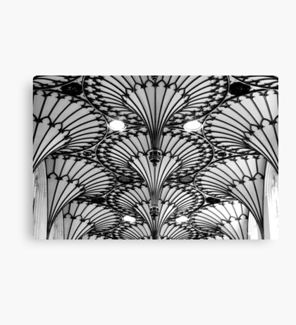 Ceiling mono Canvas Print