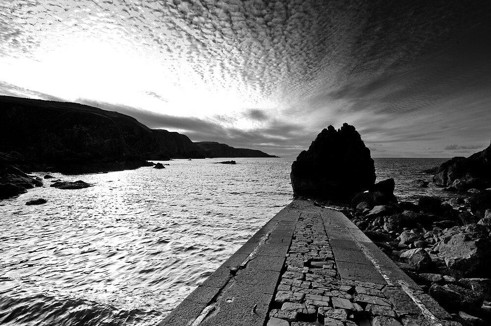 Pettico Wick, St Abbs Head, Scottish Borders by Iain MacLean