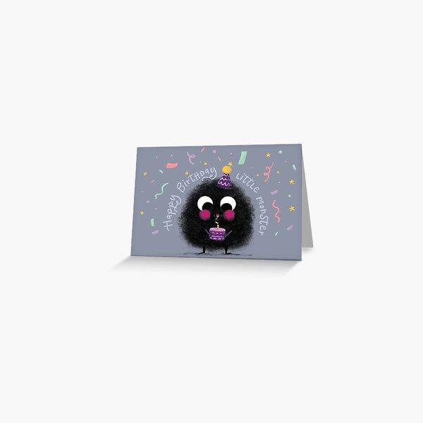 Happy Birthday, Little Monster Greeting Card