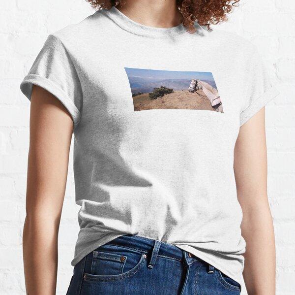 Pieper enjoying the Andalucian mountain view Classic T-Shirt
