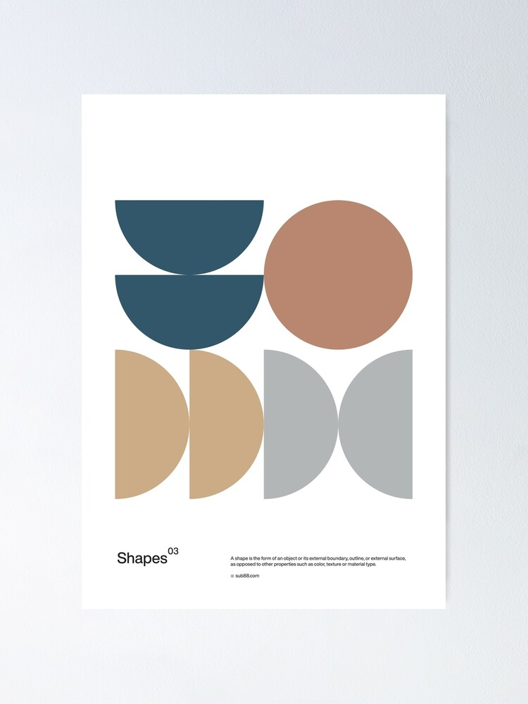 Alternate view of Shapes 03 Poster