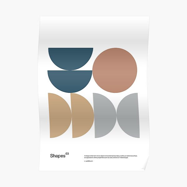 Shapes 03 Poster