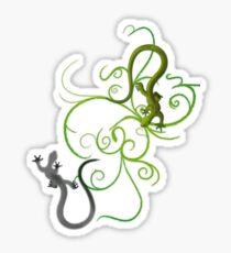 gecko duality Sticker