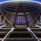 Sphere Over Grid I by Hugh Fathers