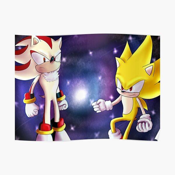 Sonic Fanart Posters Redbubble