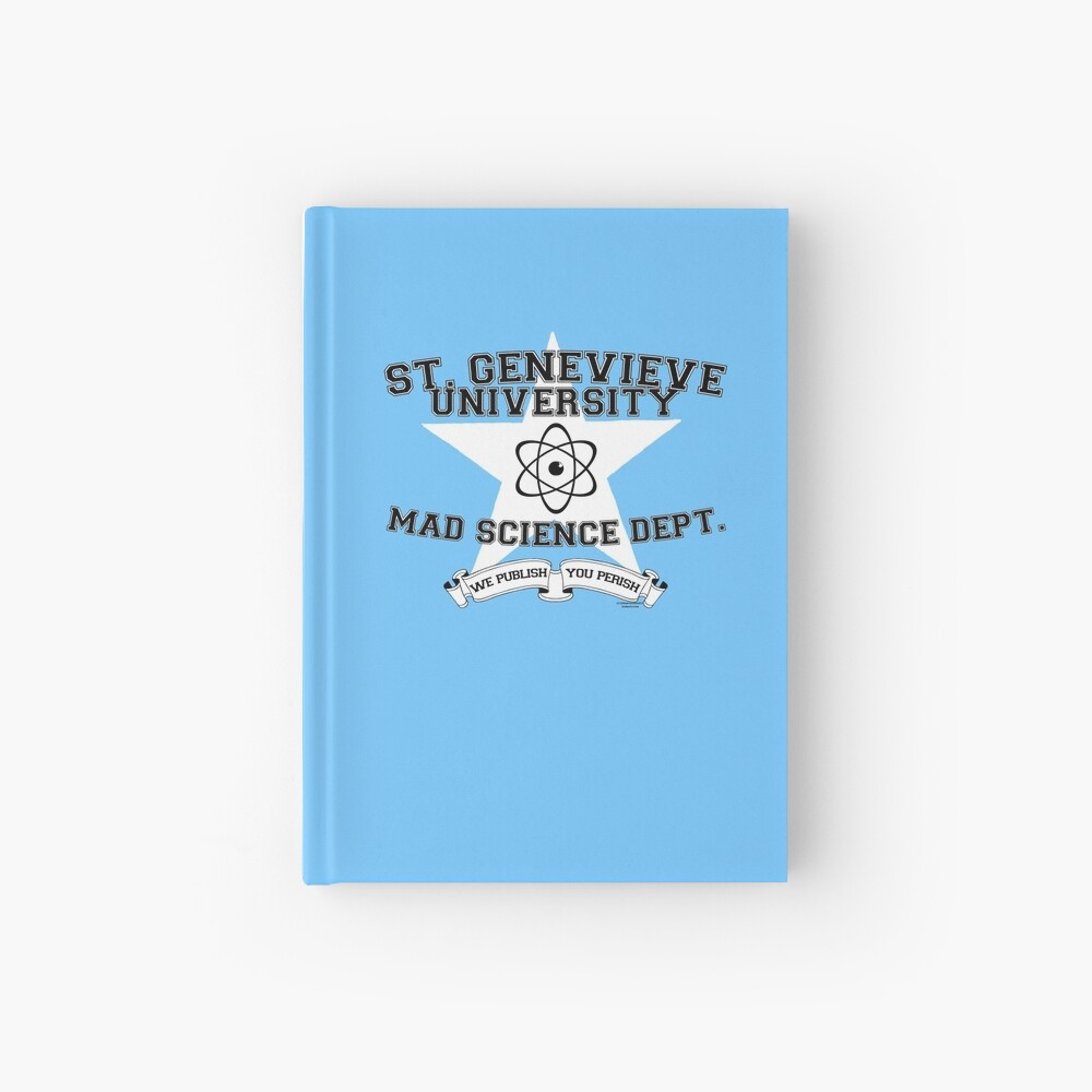 St. Genevieve University Mad Science Department Hardcover Journal