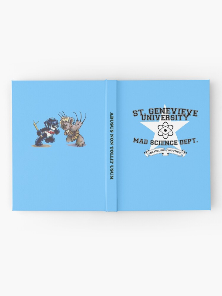 Alternate view of St. Genevieve University Mad Science Department Hardcover Journal