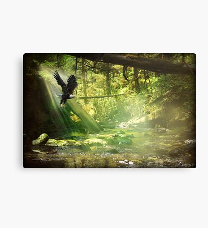 My Help is On the Way Canvas Print