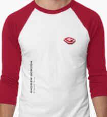 Andrew Gordon Graphic Arts Logo Men's Baseball ¾ T-Shirt