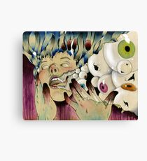 The Expulsion Canvas Print