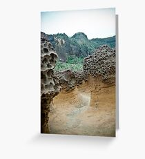 Rock Formations Greeting Card