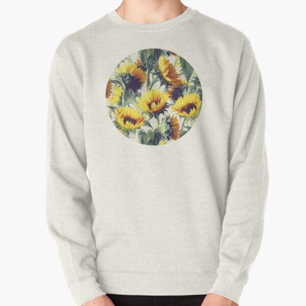 Sunflowers Forever Pullover Sweatshirt