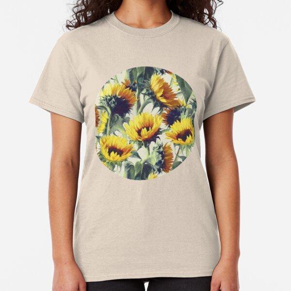 Sonnenblumen für immer Classic T-Shirt