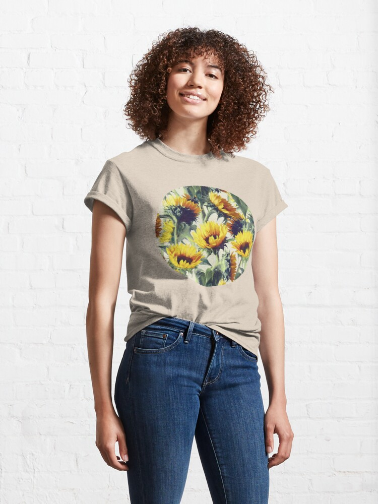 Alternate view of Sunflowers Forever Classic T-Shirt