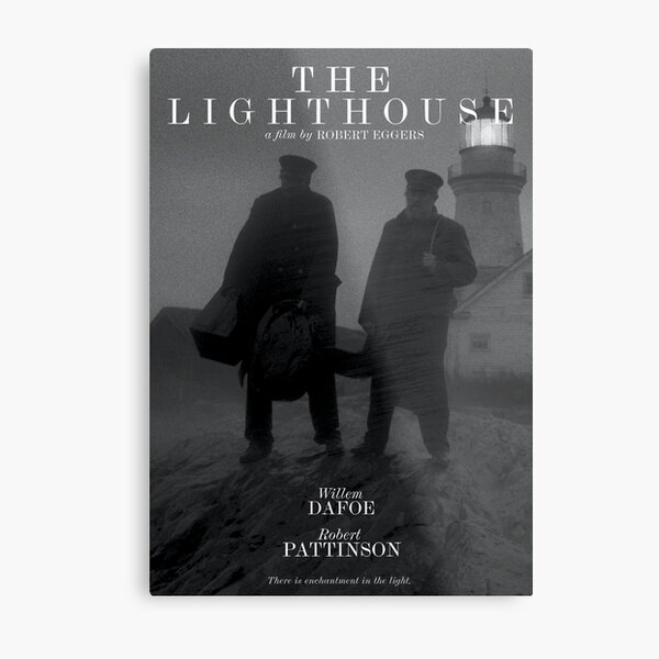 The Lighthouse Movie Poster Metal Print
