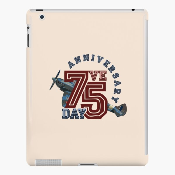 VE DAY 75th Anniversary Celebration 2020 WWII V-E Day Spitfire iPad Snap Case