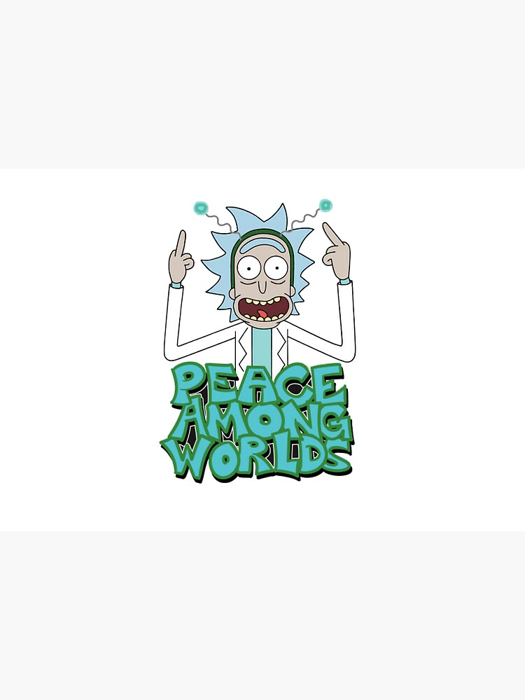 "Rick and Morty ""Peace Among Worlds"" by germis-a"